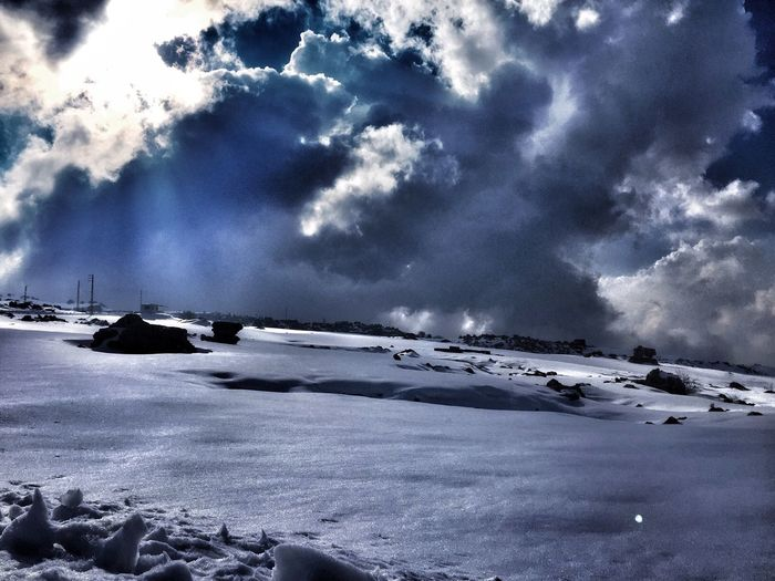 Sun Rays Snow Energy Sky And Clouds Amateurphotography Instagram Pics Capturedmoments_maria IPhone Iphonephotography