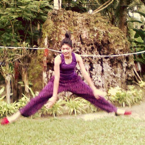 Balancing Act hanging in a rope. Jumpshots Zero Gravity