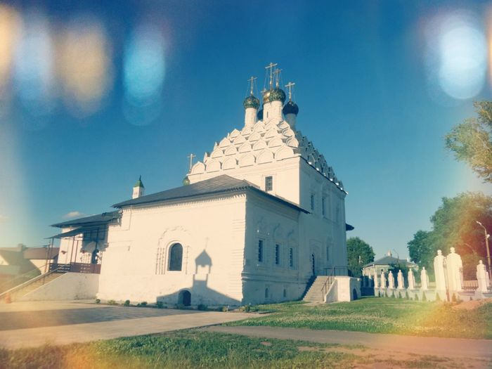 Religion History Architecture No People Travel Destinations Outdoors Building Exterior Day Sky Church Church Architecture Orthodox Orthodox Church Russia Rural Sunny Christianity Belief Spirituality Russian Culture Worship Wight