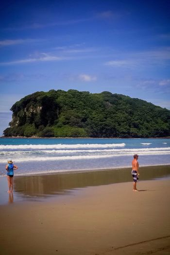 Beach at Whangamata New Zealand Nothing like a New Zealand Summer Beach Photography New Zealand Scenery New Zealand Landscape Clean And Green Sunny Day EyeEm Best Shots - Landscape Travel Travel Photography The Essence Of Summer Lost In The Landscape