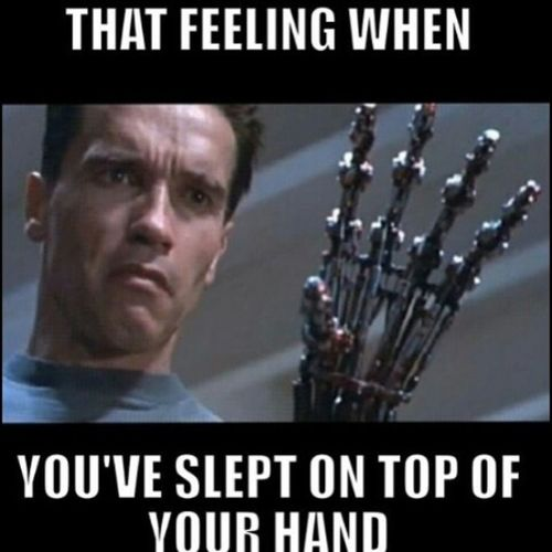 LMFAO!!! I did that to my damn hand this morning!! Thatfeeling Whenyousleeponyourhand Sotrue Truestory TagsForLikes instahysterical