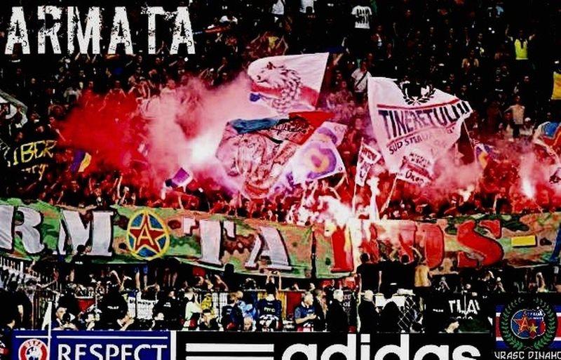Steaua Bucuresti Hooligans Ultras Steaua Pyro Is Not A Crime Armata Csa CSKA Awaydays