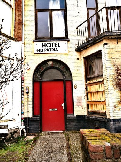 Architecture Building Exterior Built Structure Door Window Day Outdoors No People Entrance Arch DenHaag Old But Awesome Old House Old Buildings Cloudy Weather⛅☁ From Where I Stand Architecture Hotel Hotels Denhaag To Go Netherlands ❤ Anoldhouse EyeEmNewHere