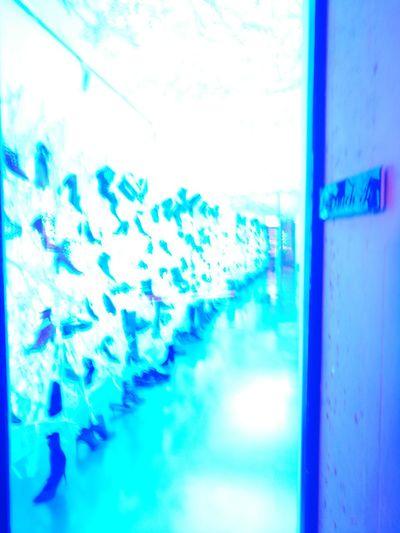 Strolling Blue Window No People Defocused Shoes Store HUAWEI Photo Award: After Dark
