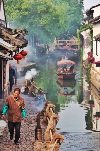 Hello World Enjoying Life Taking Photos Zhouzhuang