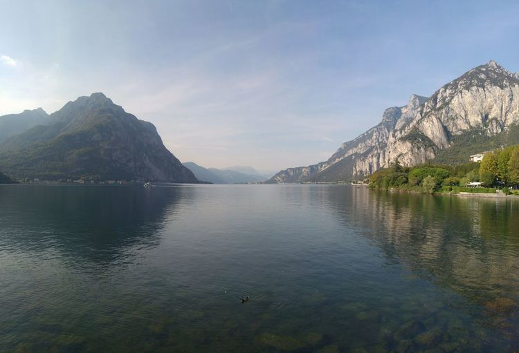 Como Beauty In Nature Day Lake Landscape Lecco Lecco Lake Mountain Mountain Range Nature No People Outdoors Reflection Scenics Sky Tranquil Scene Tranquility Tree Water Waterfront