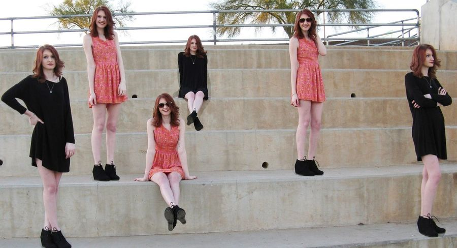 Multiplicity Taking Photos Check This Out Teenage Girl SassyGirl SassyGirl The Portraitist - The 2016 EyeEm Awards