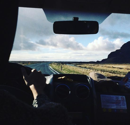 Roadtrippin' Drivinginiceland Iceland Iceland Memories Ontheroad Steering Wheel Car Journey Travel Photography Direction Let's Go. Together.