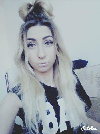 Hello World Polishgirl Blonde Girl Beng Beng