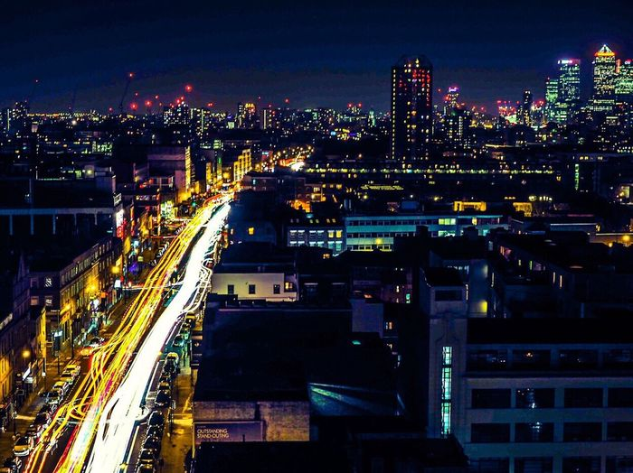 London at night Illuminated Night City Cityscape High Angle View City Life Urban Skyline London Long Exposure Urban Light And Shadow Backgrounds Background Background City Metropolis Skyline Wallpaper Neighborhood Map Let's Go. Together. EyeEm LOST IN London