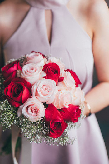 Engagement Flower Midsection Rosé Rose - Flower Flowering Plant Celebration Women One Person Bouquet Flower Arrangement Beauty In Nature Freshness Holding Newlywed Close-up Bride Real People Hand Flower Head Wedding Ceremony Engagement Love EyeEm Selects Romantic