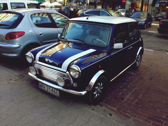 Mini Cooper Classic Car Old Car Retro
