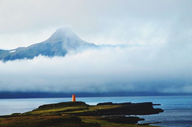 Iceland Nature Relaxing Taking Photos Island Landscape