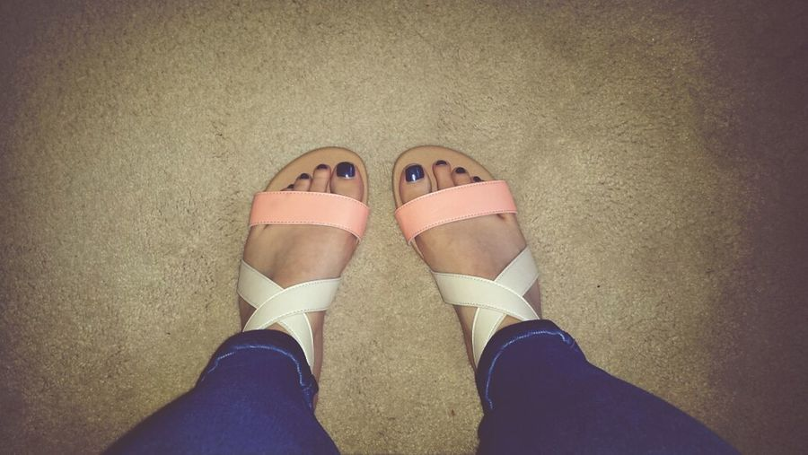 Most comfortable sandals ? Sunnydays Penneys Primark Coral