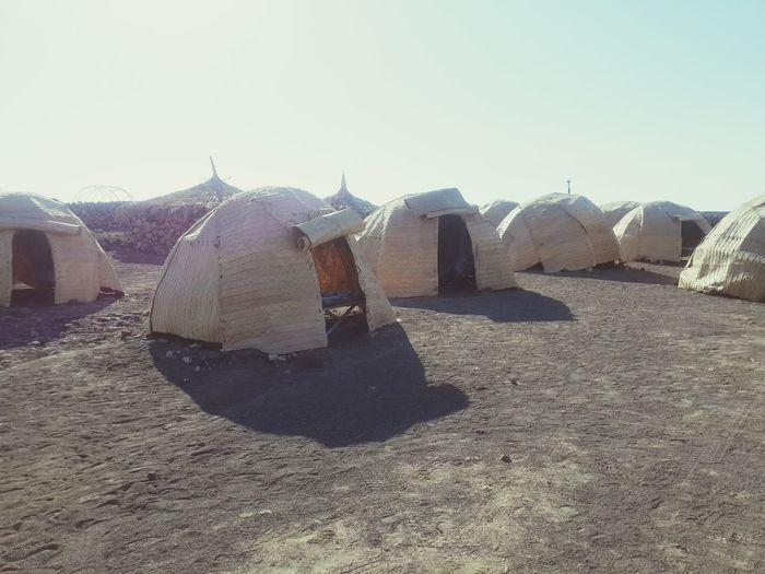 Lac Abbé Camp Dikhil Djibouti