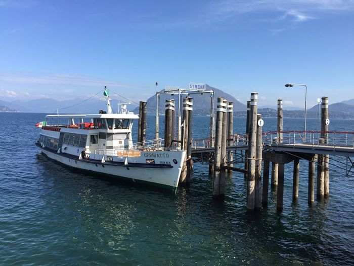 At the harbor. Docking Bay Harbour Wonderful View Sunny Day Water Nautical Vessel Transportation Mode Of Transportation Sky Sea Waterfront Passenger Craft Fishing Boat Travel Moored Pier Outdoors Day Nature Ship Rippled Fishing Industry Blue No People