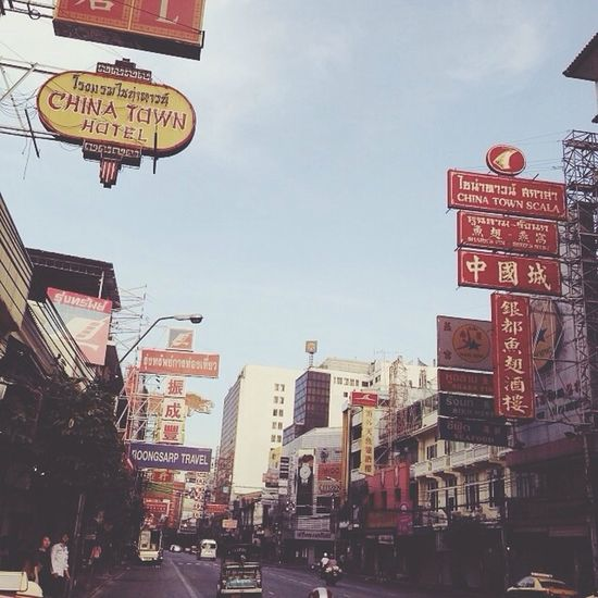On a very early morning in Chinatown in Bangkok... China Town Bangkok Bagpacking Trip Holiday♡