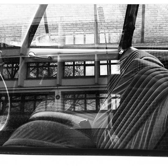 COME•AND•SIT•DOWN Irenearnal Blackandwhite Road Oldcars Oldiesbutgoldies Cars Eyeemphotography EyeEmNewHere Berlin Window No People