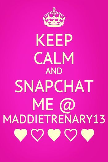 @ maddietrenary13 :)