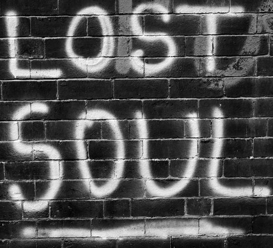 Words Lostsoul Bnw Bnw_collection Bnwphotography Monochrome monochrome photography Monochromatic Backgrounds Spray Paint Street Art Graffiti Paint Mural Scribble Painted Vandalism