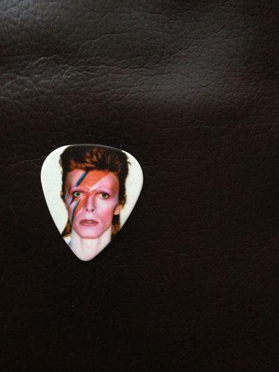 David Bowie Is ... a plectrum