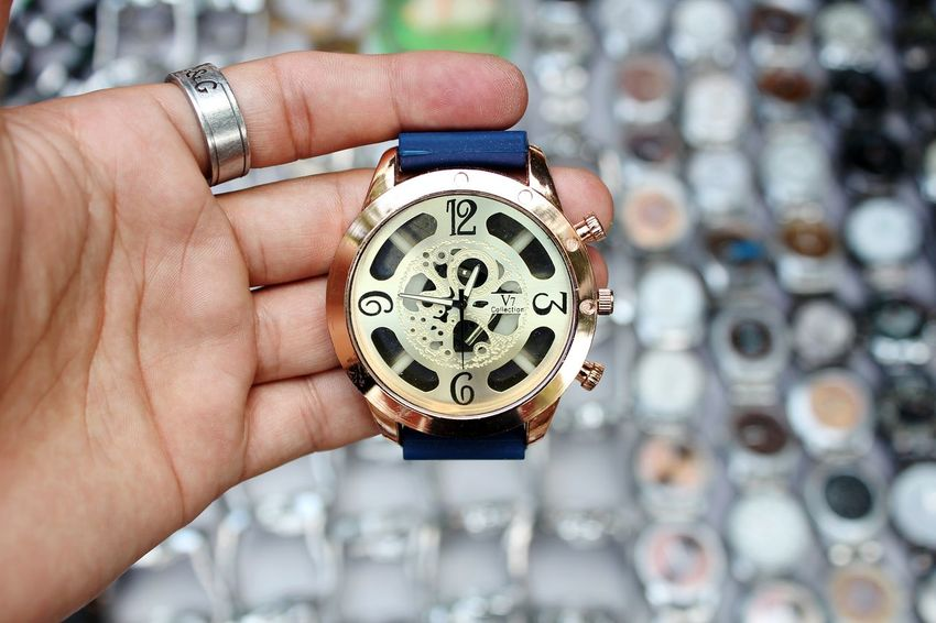 Watch and time Human Body Part Human Hand Watch Time Close-up One Person Luxury Clock Adult People Holding Pocket Watch Minute Hand Gear Clock Face Wristwatch India Art ArtWork Time To Relax Time For A Race Time Travel