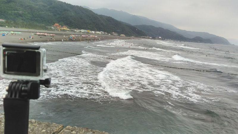 烏石港 北堤 衝浪