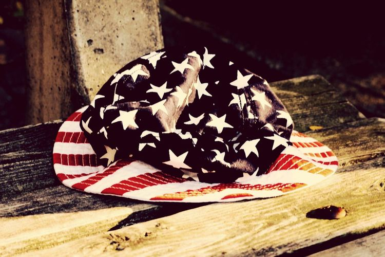 """We may encounter many defeats, but we must not be defeated."" Maya Angelou Patriotism Stars And Stripes Hat Photography Photooftheday"