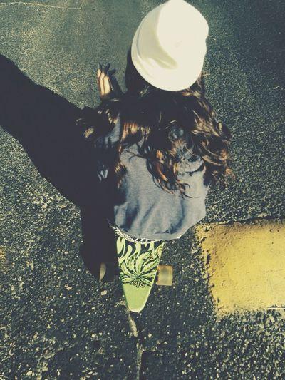 Skate Life Photography Longboard Girl