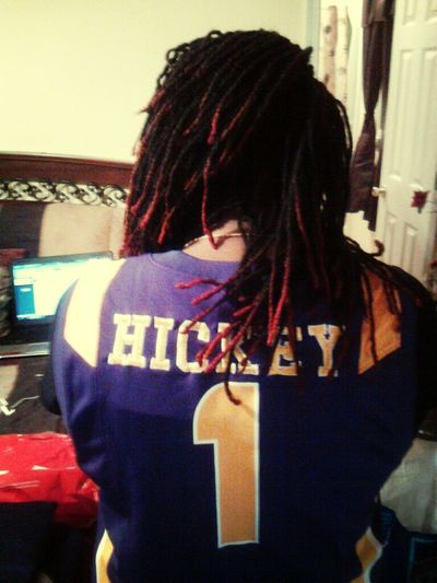Coming home to battle BLUE NATION! Good Luck tomorrow Son. You will always be my #1 KY BOI :) GEAUX TIGERS!!!!!!