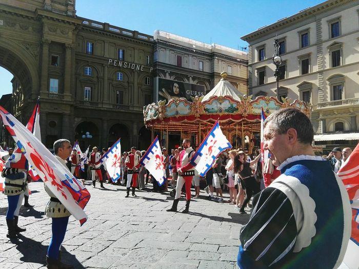 San Giovanni che non vuole inganni... Streetphotography People Colors Flags Enjoying Life Life Love Summer Florence