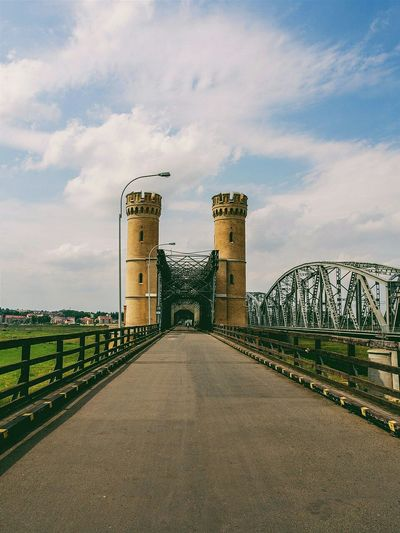 Road Towers Bridge Sky And Clouds Poland Taking Photos Traveling Eye4photography  The Great Outdoors - 2015 EyeEm Awards Vscocam
