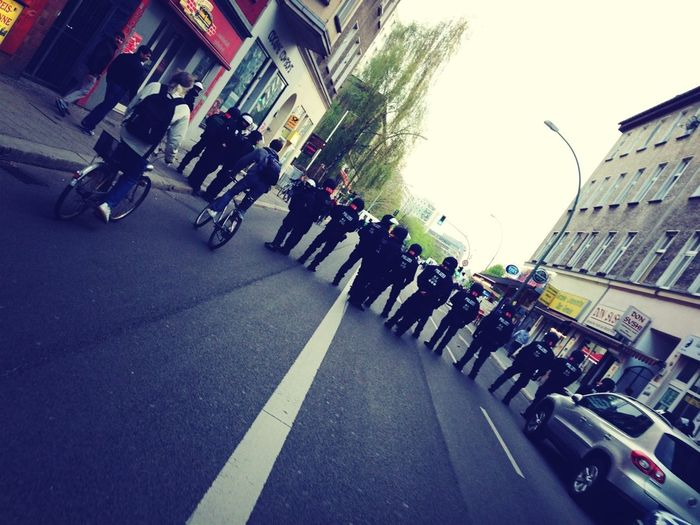 First Of May Protest Police