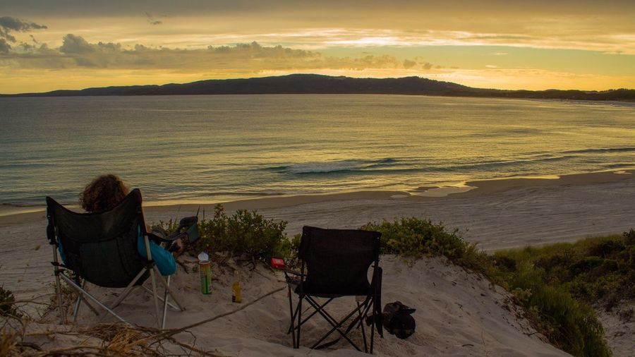 Check This Out Hanging Out Hello World Relaxing Taking Photos Enjoying Life Sunset Landscape Landscape_photography Canon Life Is A Beach Beach Life Australia Australian Landscape Australian Sunsets The Week On Eyem Beach Photography