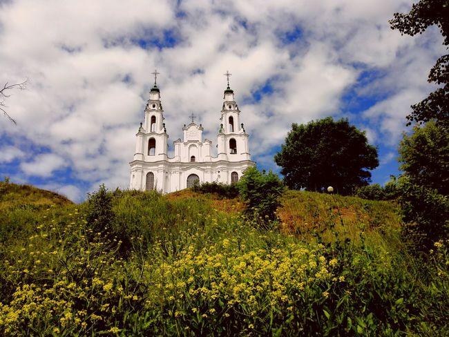 Architecture Built Structure Cathedral History Famous Place Belarus Belarus Polotsk Church Travel Destinations