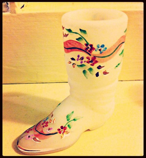 Sting filter Fenton Glass Collection Boot Knick Knacks