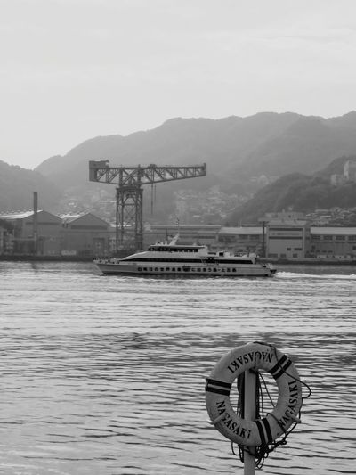Water No People Day Factory High Speed Ship World Heritage Mitsubishi Japan 日本 長崎 Nagasaki Sun Sea Ship Nagasaki JAPAN Close-up Japan Photography Nagasaki-shi Monochrome Monochrome Photography