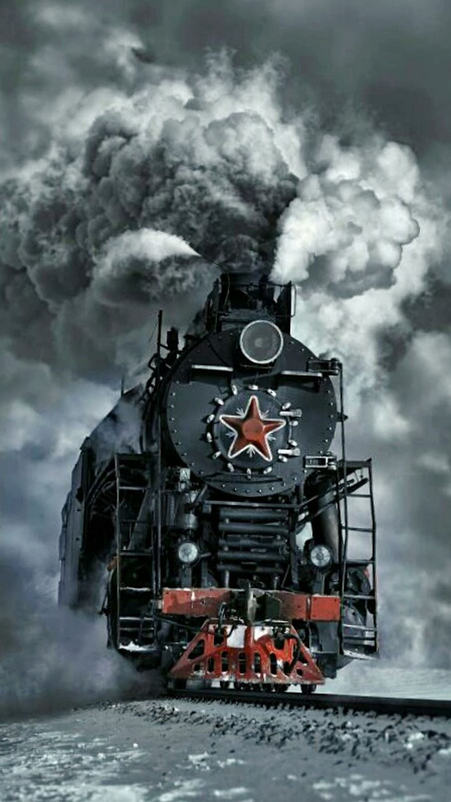 smoke - physical structure, heat - temperature, ominous, adventure, cloud - sky, outdoors, old-fashioned, storm, steam train, locomotive, no people, inferno, nature, day