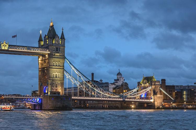 Tower Bridge on