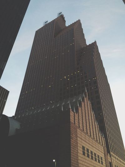 Skyscraper I Love You Being A Tourist Look Up HoustonTexasBaby