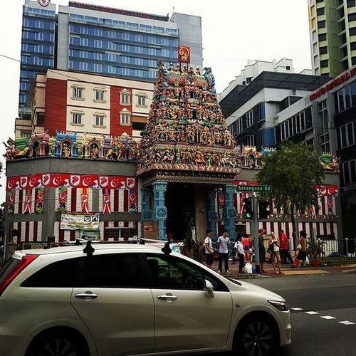 每次經過都覺得好漂亮 LittleIndia Singapore Singapore2015 Sg Sg50