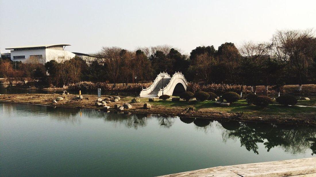 Cold Winter ❄⛄ River Suzhou Suzhou, China Bridge