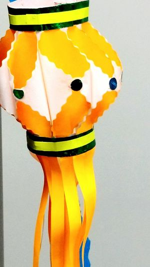Lantern Festive Mood Festival Of Lights Craft Diwali Fringes Orange