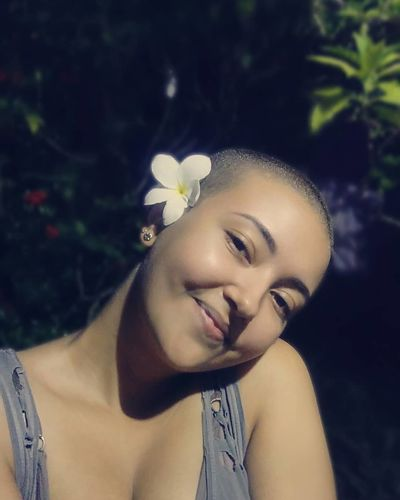 Young Women Flower Tree Beautiful Woman Beauty Women Headshot Portrait Females Beautiful People
