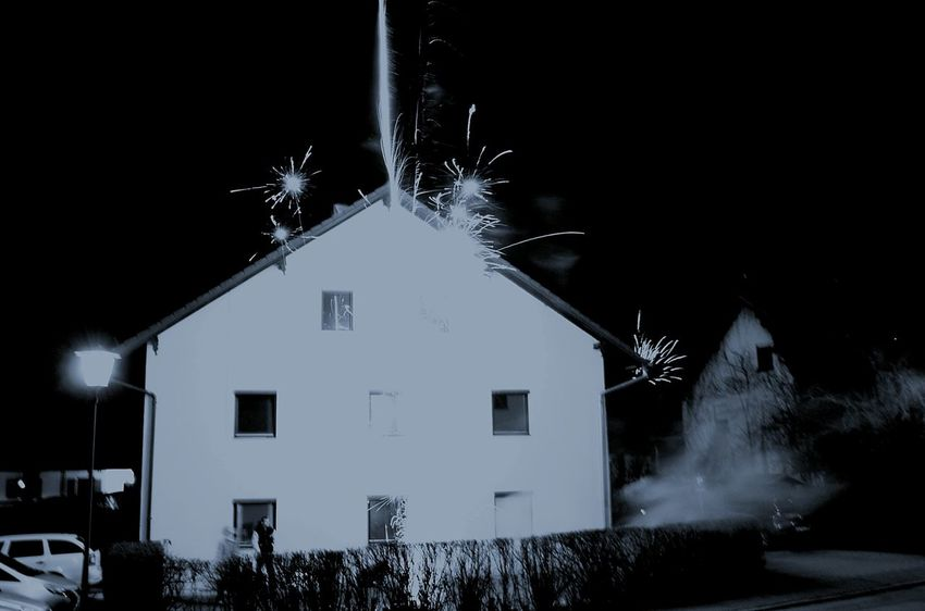 EyeEm Selects Night House Building Exterior Built Structure Window Architecture Destruction
