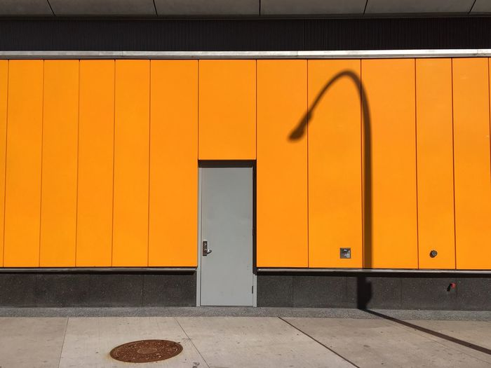 Fordham Plaza, May 9, 2016 First Eyeem Photo IPhone Yellow Shadow