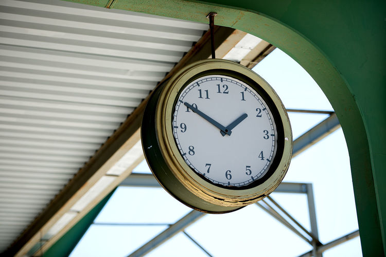 Latvia Old Clock Station Station Clock Architecture Clock Clock Face Close-up Day Gauge Hour Hand Indoors  Low Angle View Minute Hand Navigational Compass No People Number Roman Numeral Time Be. Ready.