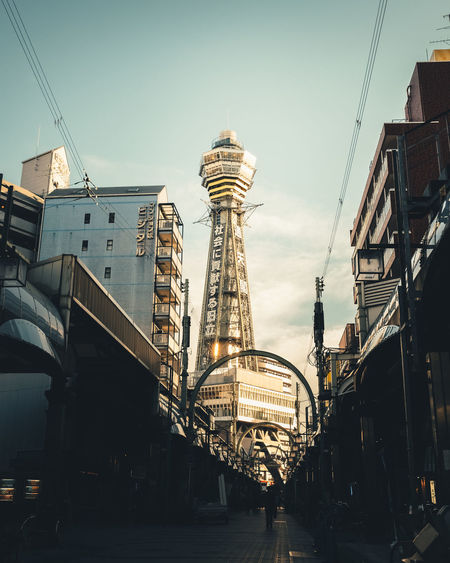 Tower Architecture Built Structure Building Exterior Sky City Nature Transportation Low Angle View Building Day Outdoors Connection No People Travel Travel Destinations Clear Sky Tower Office Building Exterior Cityscape Skyscraper It's About The Journey