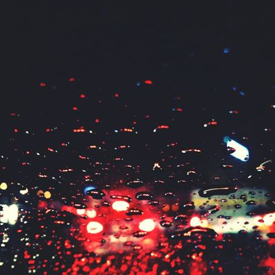 In Traffic Rain Drops