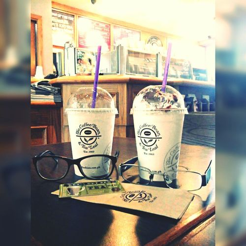 The Coffee Bean ❤ His (the messy one) & Her (the clean one) 2ndphoto Ilovecoffee